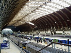 Paddington Station mainline