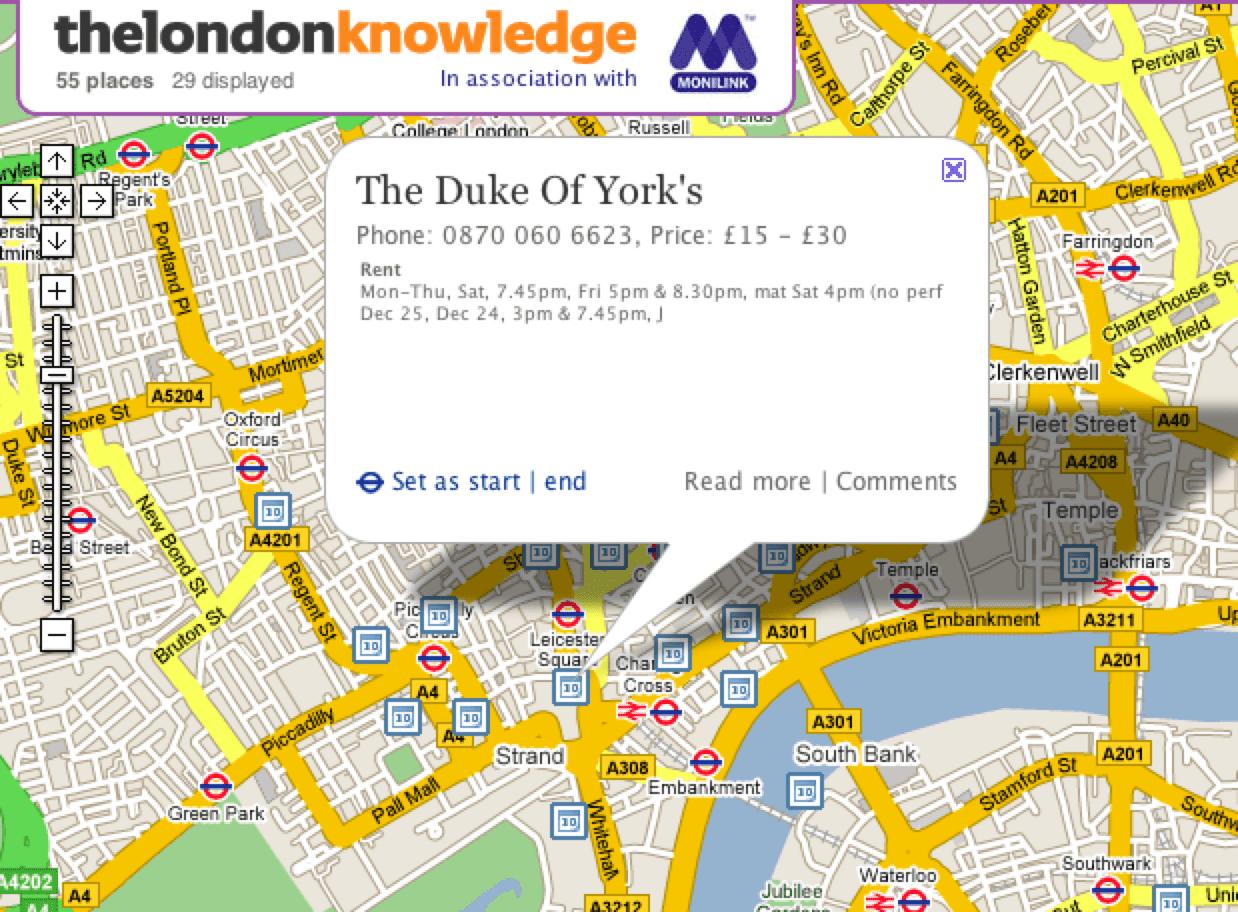 London Knowledge