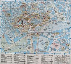 London Breaks theatre street map