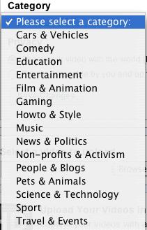 youtubecategories