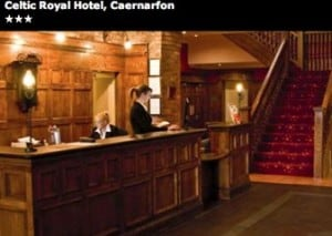Celtic Royal Hotel, Caernarfon - Theatre Breaks Magazine - Omega Holidays