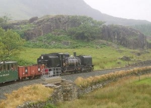Welsh Highland Railway in Snowdonia